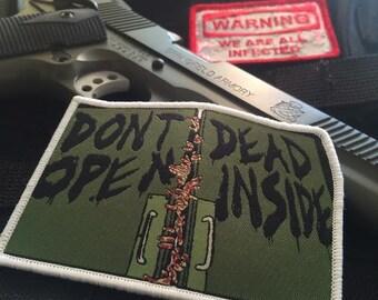 Walking Dead Patch - Don't Open Dead Inside