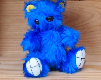 "Doctor Who Inspired TARDIS Teddy 13.5cm/5.5"" tall"