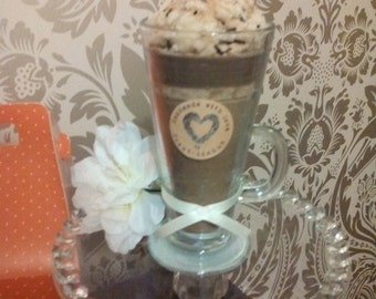 Lushus hot chocolate candle. Smells divine!!!