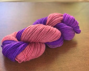 DESTASH! Worsted, Hand dyed yarn, hand painted wool - Imma Fine