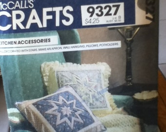 McCall's Crafts Kitchen Accessories Pattern 9327