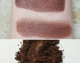 Werewolf Blood - Rusty Red, Reddish-Brown, Mineral Eyeshadow, Mineral Makeup, Vegan