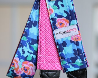 Midnight Meadow Reversible Camera Strap
