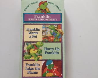 Franklin Learns Responsibility ( VHS)
