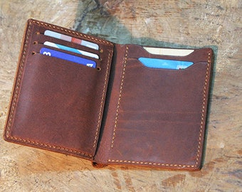 Mens leather wallet, Leather gifts for men, Mens wallet leather, Men travel wallet, Leather Wallet for man, Personalized Leather wallet