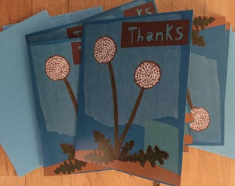 Dandelion Boxed Thank You Note Cards