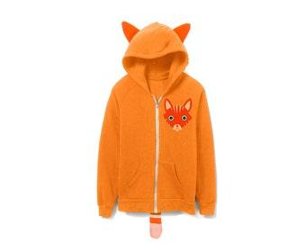 GEWO Shirt personnalisé Leon, Options d' XS, Gris/Orange