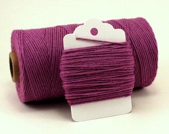 Purple Baker's Twine - Purple String for Favors - Purple Wedding Twine - Cotton - Solid Purple Divine Twine - Lavender Twine - Violet Twine