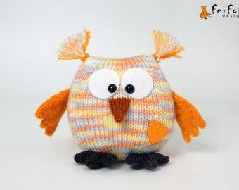 Stuffed owl Plush owl doll Owl figurine Gift for owl lover Owl decor Stuffed animal Owl gift Plush owlet Woodland animal owl Girlfriend gift