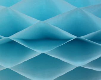 6-pack Light Blue Honeycomb Paper Popup Craft Pad (7 inches X 9 inches each)