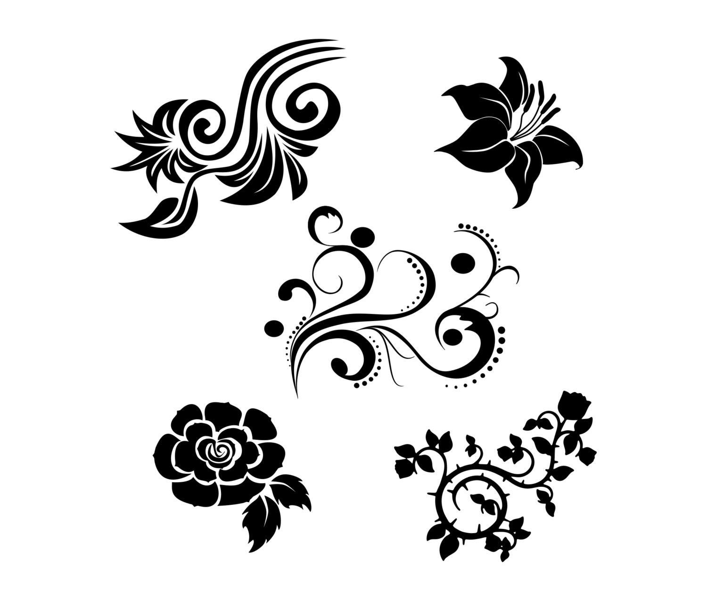 Download Flower SVG bundle Vector art Clipart Cut files for cricut