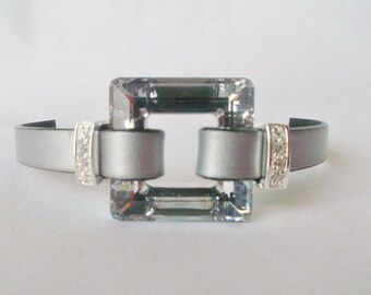 SALE: 30mm Swarovski Square, Crystal Cal V SI