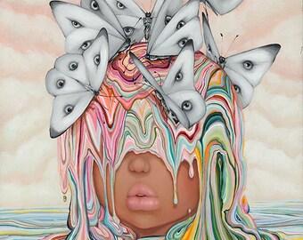 Eye Sea Hue-Signed 11x14 Lasal Print