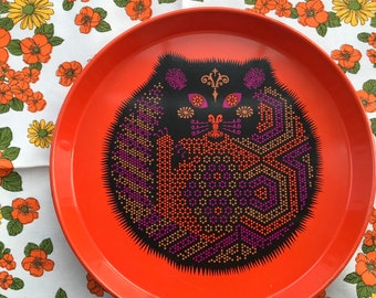 Stunning Retro Mod Pop Coraware Kitty Tray