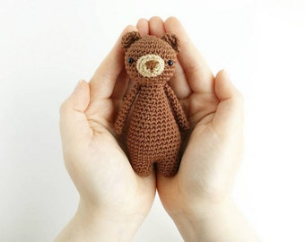 Mini Bear Crochet Amigurumi Pattern
