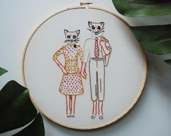 Fantastic Mr. Fox Embroidery