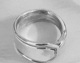 1950 - Sterling Silver - Vintage - Spoon - Ring