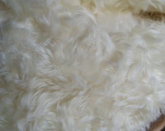 Snow Storm 20mm Dense  Curly  Mohair
