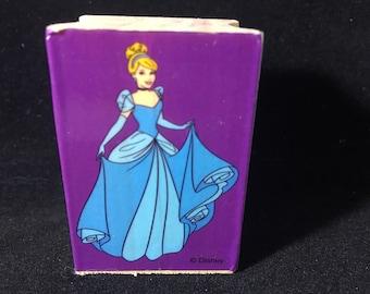 Cinderella Rubber Stamp Disney Used