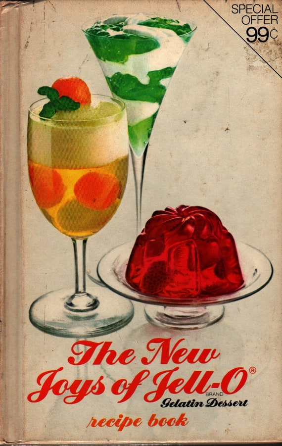 New Joys of Jello + 1974 + Vintage Cook Book
