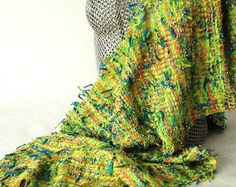 Shawls, scarves, wraps, hand woven, cotton, linen, hand dyed, summer weight, brigt colors