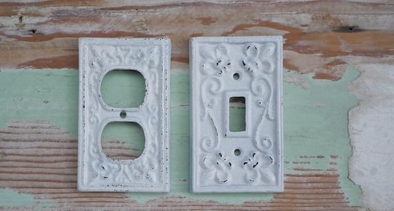 White Decorative Light Switch Covers Fair Light Switch Cover Fleur De Lis Cover White Light Switch Design Decoration