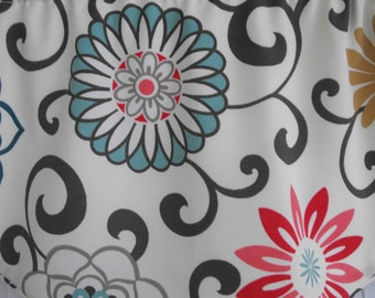 Fabric shower curtain, bath tub curtain, bathroom curtain, custom shower curtain, bathroom decor