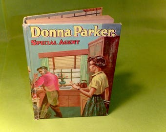 Donna Parker - Special Agent - 1957 Children's Mystery Book