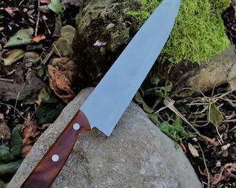 Chef's knife - 14.5 inches - Hawaiian Koa  Wood Handle
