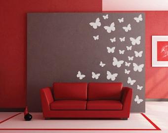 Butterflies - Coloured