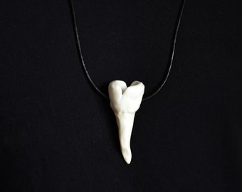 Porcelain Tooth Necklace (No.12)