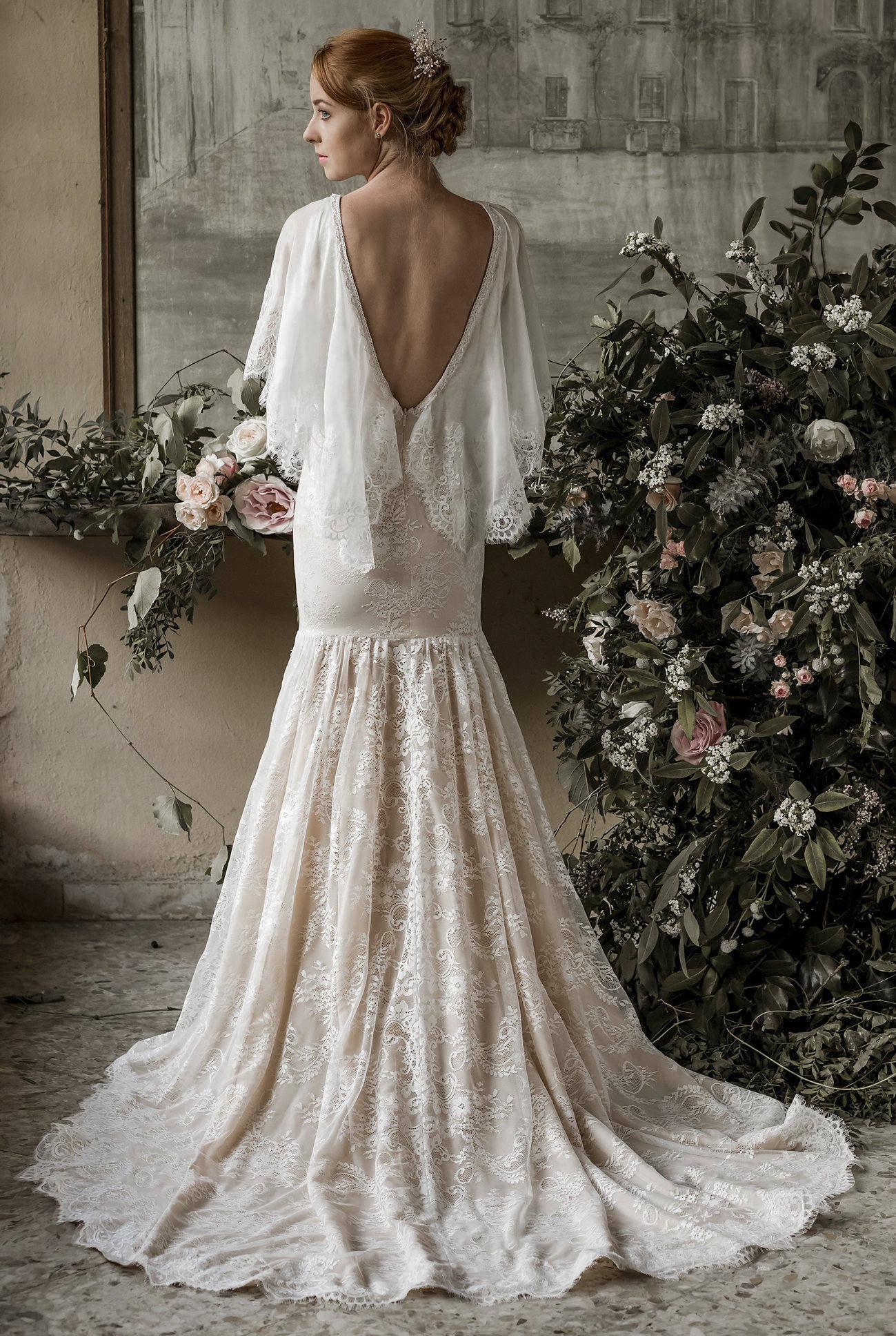 Meerjungfrau Hochzeit Kleid Trompete Brautkleid Mermaid