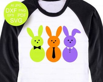 Easter svg Bunny SVG Easter Bunnies svg Easter shirt svg files Easter Bunny svg Easter mug svg Peeps Happy Easter SVG boy easter cricut file