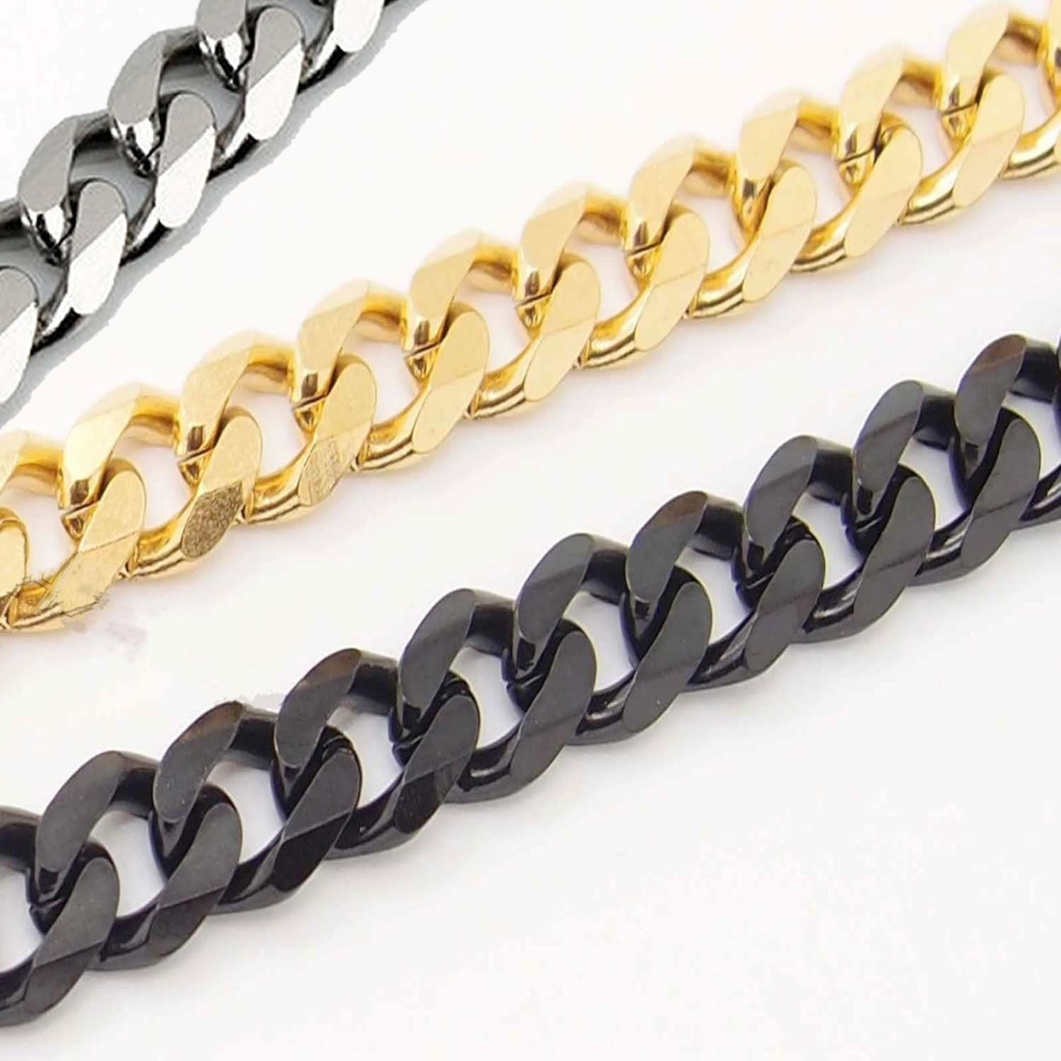 steel chain jewelry men mens product sutton razor stainless necklace chains