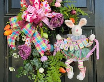 Easter Bunny Hop Wreath