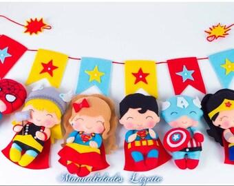 Marvel-Super Heroes-Birthday-Toys-Parties-Gift-Birthday Marvel-Girls-Children-Children's Party-Birthday SuperHeroe