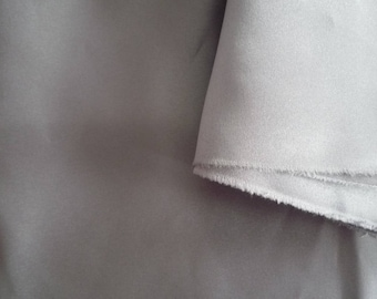 Fabric lining with satin finish grey 60 * 90 cm