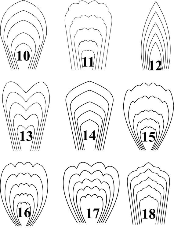 Paper flower templates robertottni paper flower templates mightylinksfo Gallery