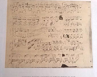 Sheets music Frederic Chopin Polonaises Vintage music book Classic piano Polish pianist Romantic composer Gift teacher instructor student