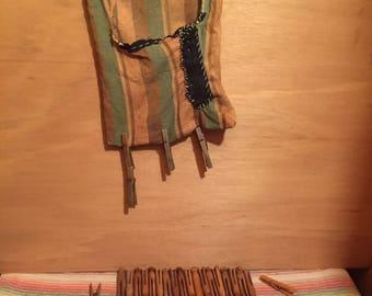 Vintage Clothespins & Handmade Bag