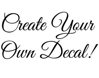 Vinyl Wall Decal Etsy - Create vinyl decals