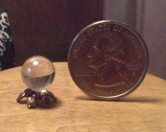Dollhouse Miniature  Crystal Ball 1:12  One Inch Scale  7