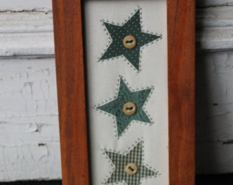 Framed Stars or Hearts
