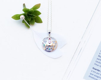 Crystal Star necklace from Sailor Moon