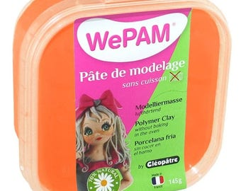 WE PAM - Porcelaine froide à modeler orange