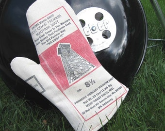 Hot Shot Upcycled Barbecue Mitt for Grilling, Dutch Oven or Kitchen-West Coast