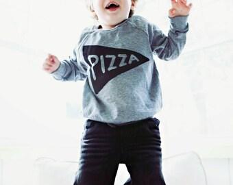 Gift for Kids : Pizza Pullover, children, Lightweight Sweatshirt, longsleeve unisex shirt girl boy gift for toddler gift, tmnt pizza party