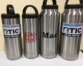 superfast 18oz or 36 oz RTIC stainless steel double wall vacuum insulated bottle