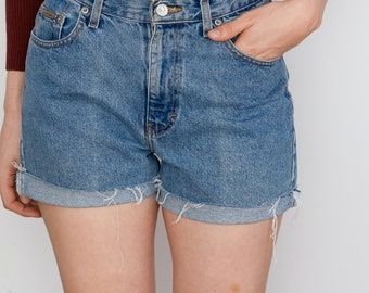 Vintage Calvin Klein High Waisted  Jean Cut-offs