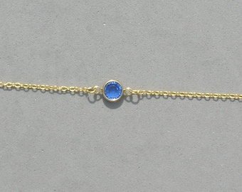 Swarovski September Birthstone Bracelet